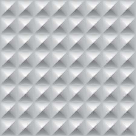 Seamless metal texture with diamont shapes steel, vector background