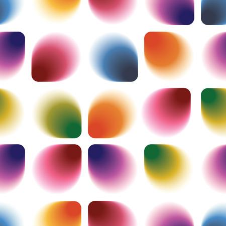 Seamless geometric vintage wallpaper, 60 colorful retro pattern