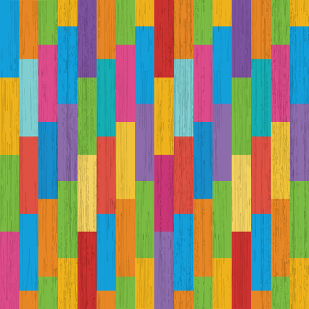 parquet: Colorful parquet floor, colored wood texture Stock Photo