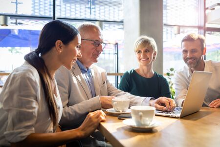 Startup new business launch in restaurant