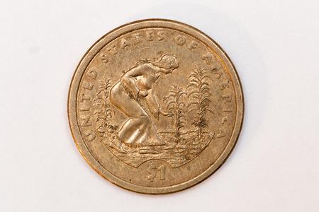 reverse: Dollar Coin Reverse