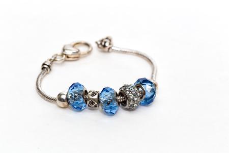 snazzy: Blue Bracelete