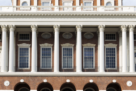 Close Up of Massachusetts State House