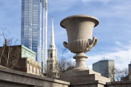 The Pot in the Boston Common