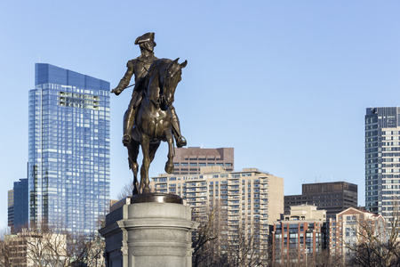George Washington Statue Boston
