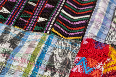 Guatemalan Textile Stock Photo