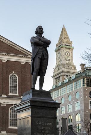 adams: Samuel Adams Statue