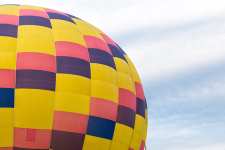 Hot Air Balloons Over the Sky Imagens