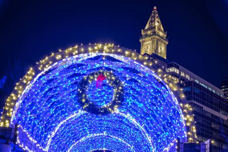 The Blue Tunnel on Christmas