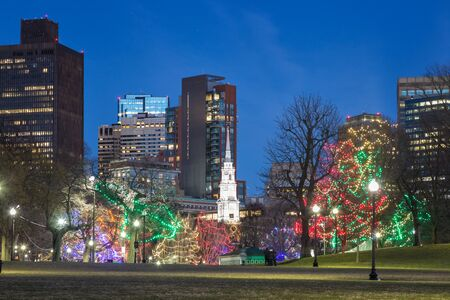 A Christmas Night in Boston