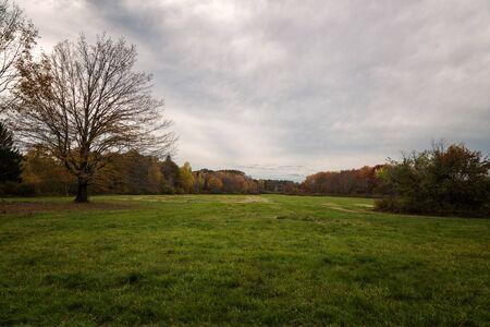 Autumn Landscapes in Massachusetts Banco de Imagens