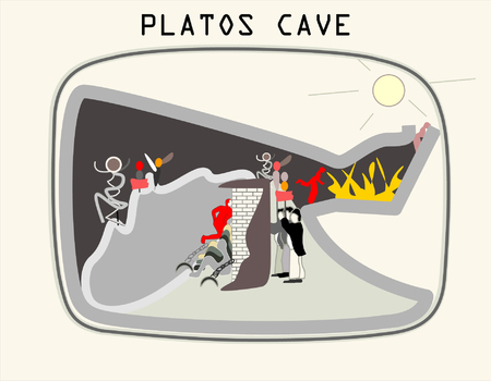 Allegory of the Cave  - Plato's book The Republic