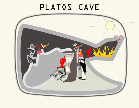 Allegory of the Cave  - Plato's book The Republic