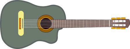 Musical instrument - guitar.