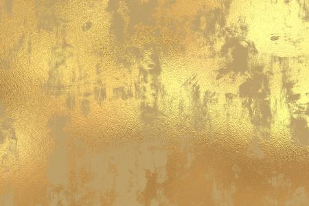 Gold grunge foil background