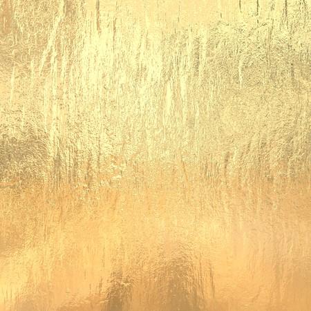 Gold metallic foil Stock Photo