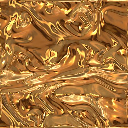 Gold wavy background
