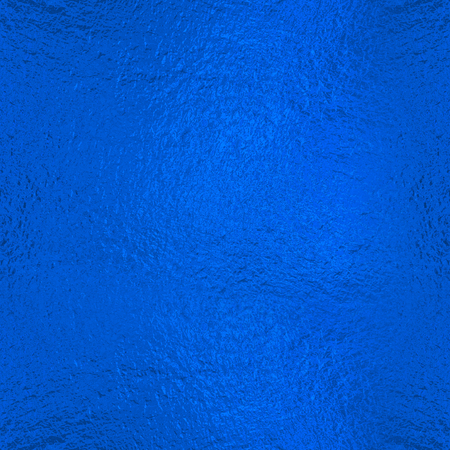 Blue Foil seamless background Stock Photo