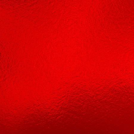 Red metallic foil Stock Photo