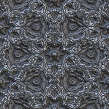 3d seamless floral pattern, digital art design
