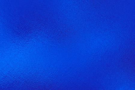 Blue metal foil