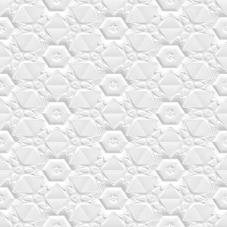 Seamless wall panel 3d background