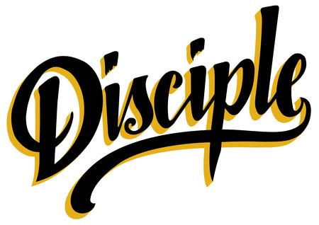 Disciple Lettering