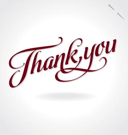 merci: merci �criture manuscrite