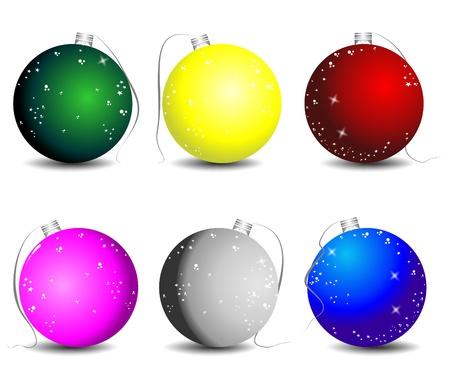 christmas illustration Stock Vector - 9885593