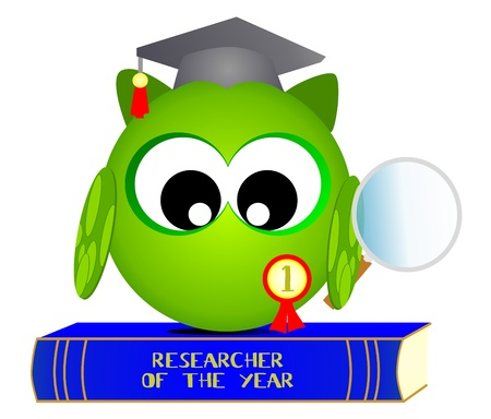 owl researcher of the year Vector