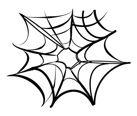 spider web background black and white Stock Vector - 9999082