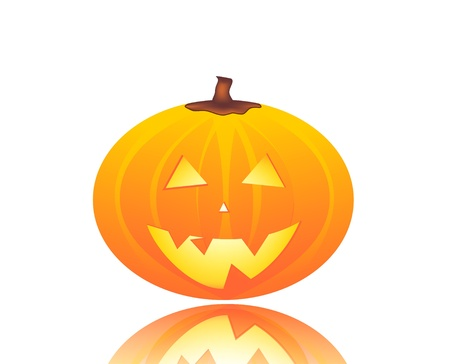 cobwebs: halloween pumpkin