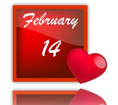 february: feast of love Illustration