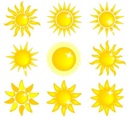 raggio: icona del sole