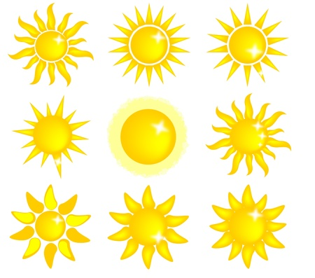 sun icon Vector