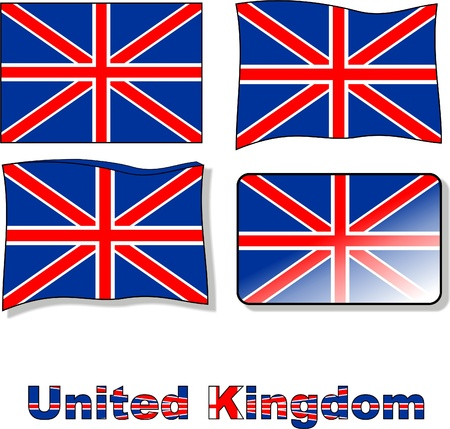 flag of the united kingdom Stock Vector - 10121143