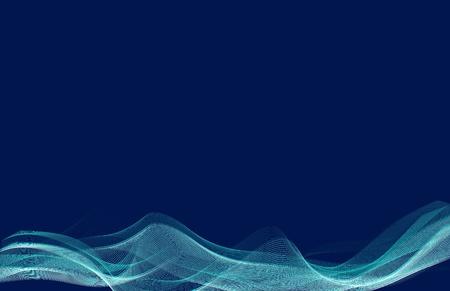vettoriale: Astratto sfondo blu e azzurro Illustration