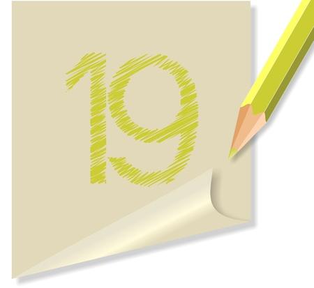 post-it numero 19