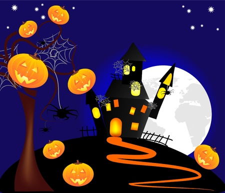 illustrazione di halloween Vector
