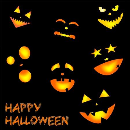 kids weaving: happy halloween Illustration