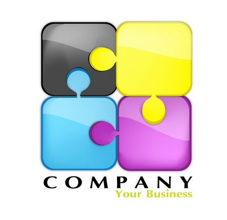company, your business Stock Vector - 10652301