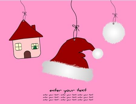 allegro: Christmas Background