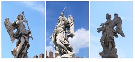gotico: Statua di Angeli, Roma