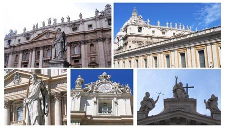 gotico: La Bas�lica de San Pedro, Vaticano Foto de archivo