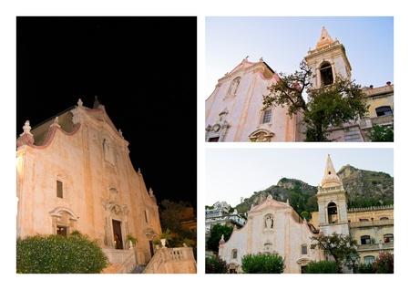 church in taormina photo