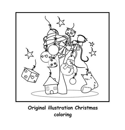 Christmas color Vector