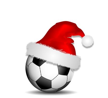 cappello natale: palla con cappello di Natale
