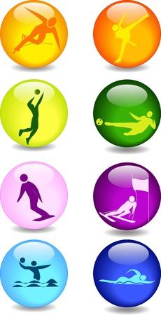 sports icons Çizim