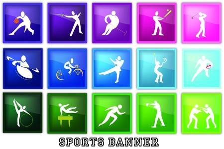 flag sports Vector