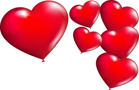 amore: sfondo con cuori
